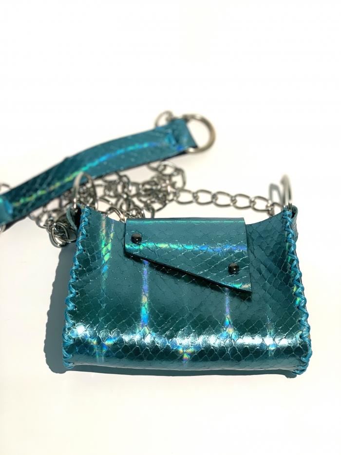 Дизайнерска мини чантичка